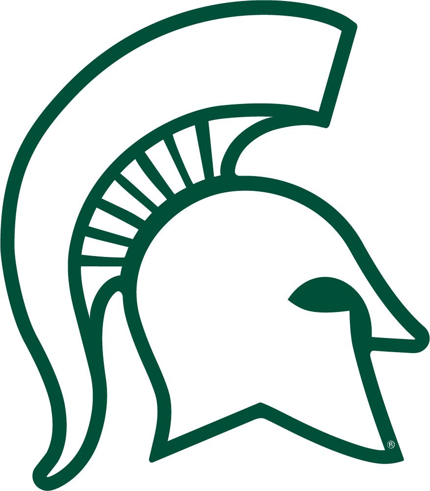 michigan state sparty logos rh logolynx com michigan state logo images michigan state logo font