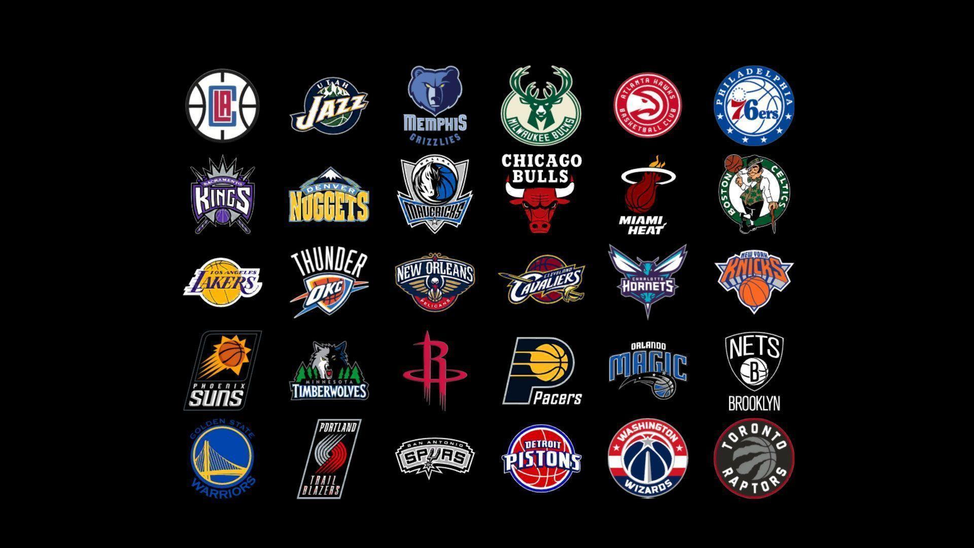 NBA Team Logos W Papers 2016 Paper Cave