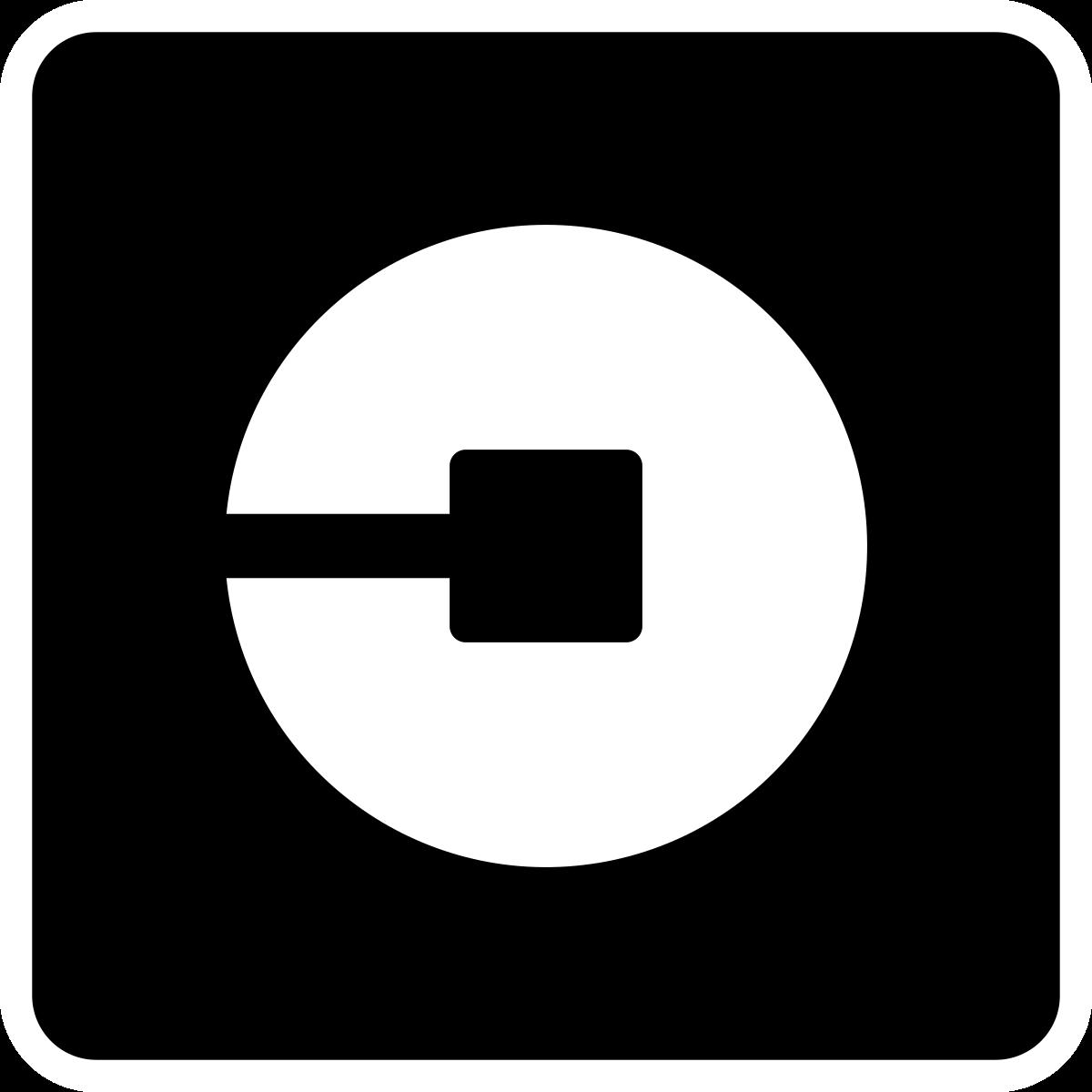 Uber app logos