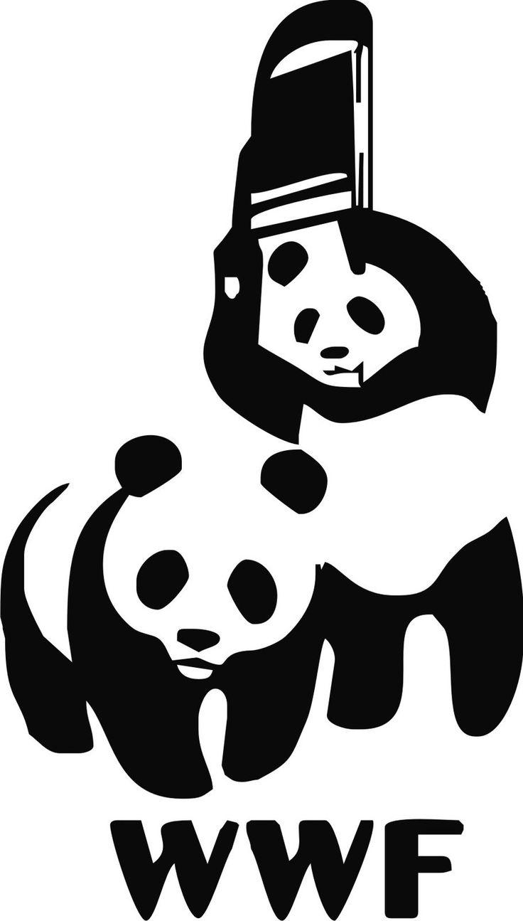 Wwf panda Logos
