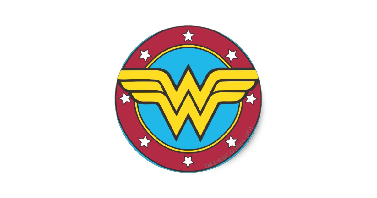 Old Wonder Woman Logos