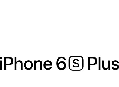 Iphone 6s Plus Logos