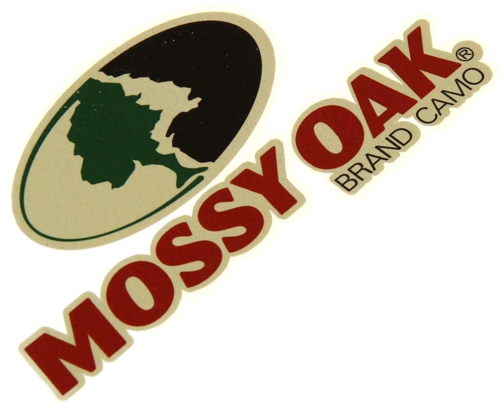 Mossy Oak Graphics 13003-S 3 x 7 Full Color Mossy Oak Logo Decal