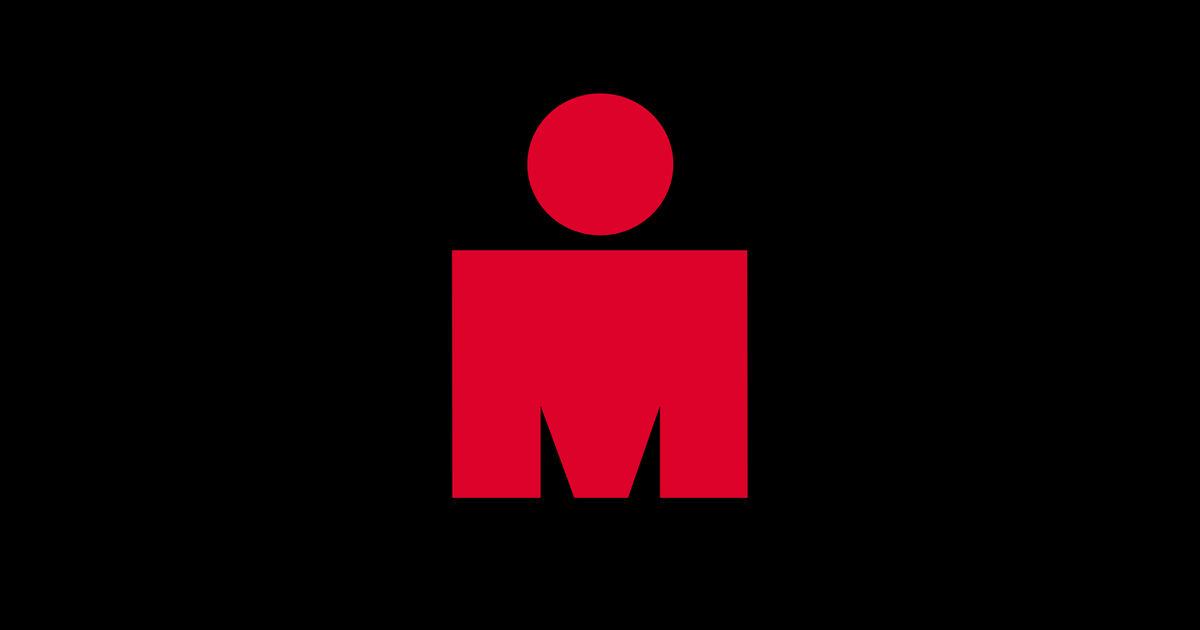 Ironman logo triathlon