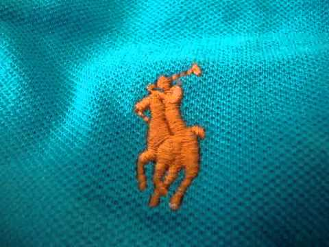 ee17f90f8bc How to spot a fake Ralph Lauren Polo shirt.