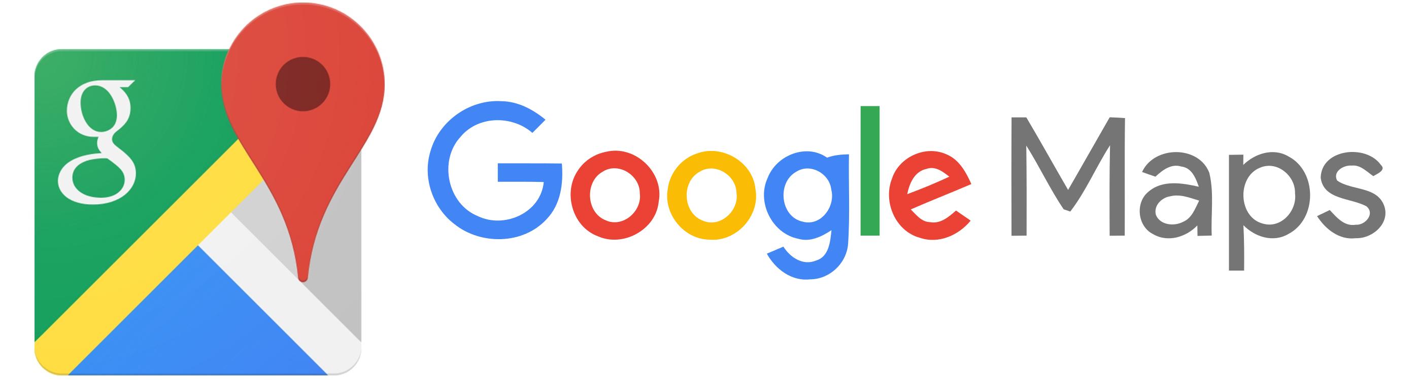 google maps logos. Black Bedroom Furniture Sets. Home Design Ideas