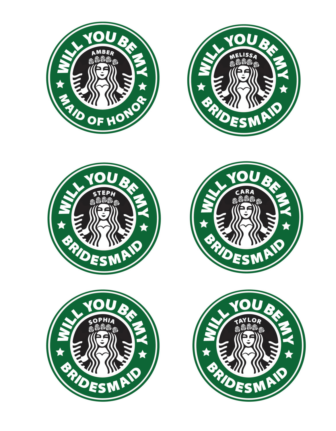 Resource image for printable starbucks logos