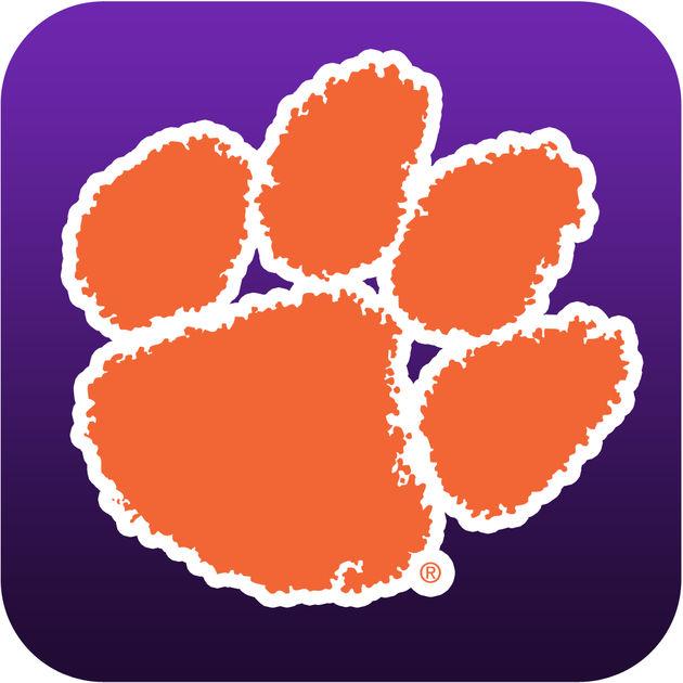 paw Logos tiger Clemson
