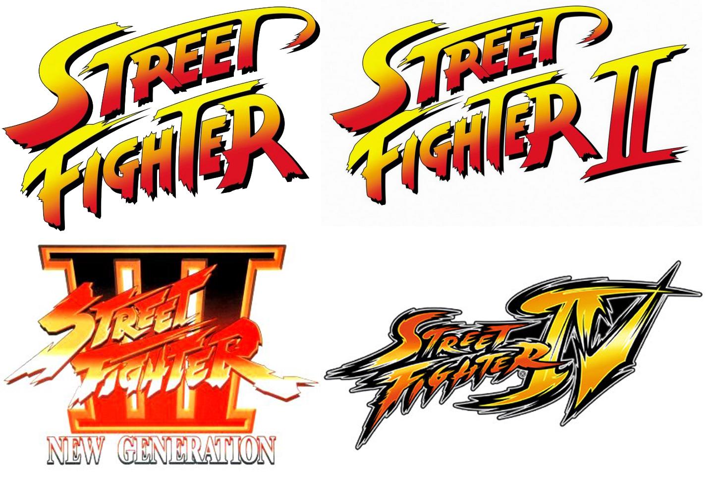 street fighter 2 logo font