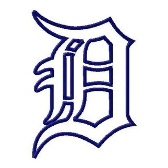 detroit tigers english d logos