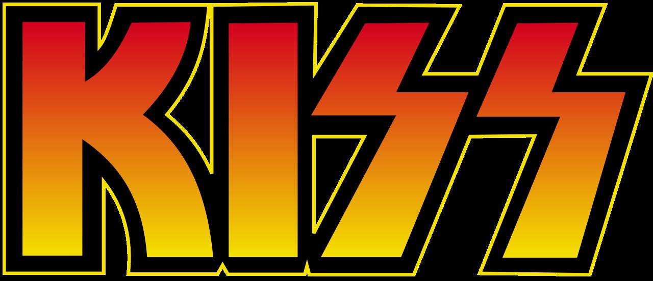kiss logos rh logolynx com kiss band logo font Original Kiss Logo