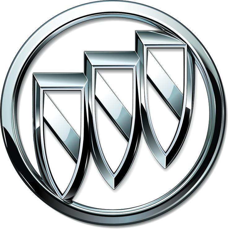Three Shields Car Logos