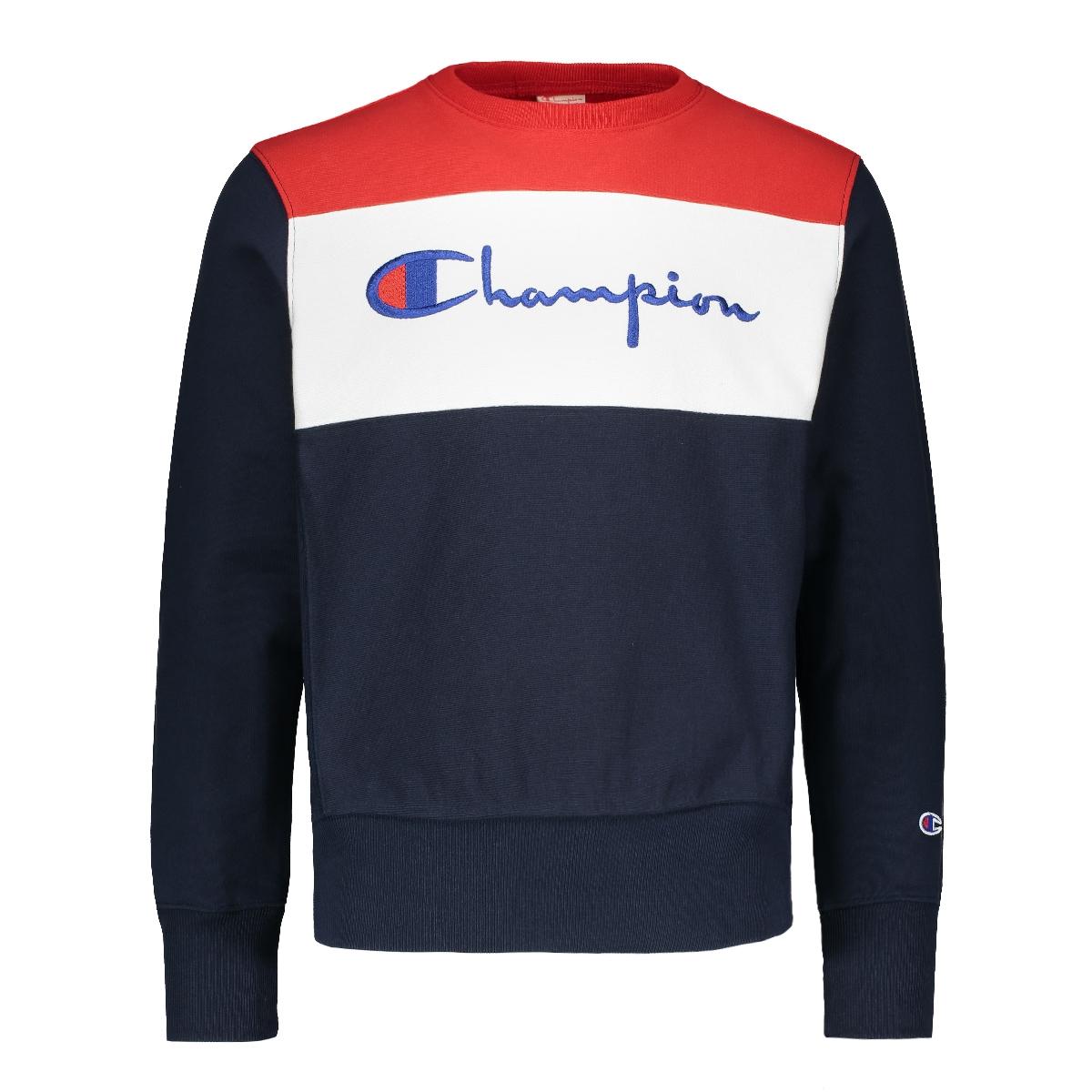 684805f2 Champion Crewneck sweatshirt big logo, Heren Truien