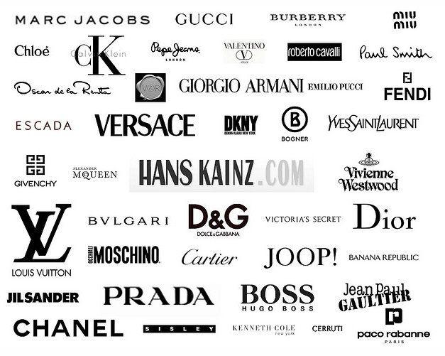 American Fashion Designer Logos