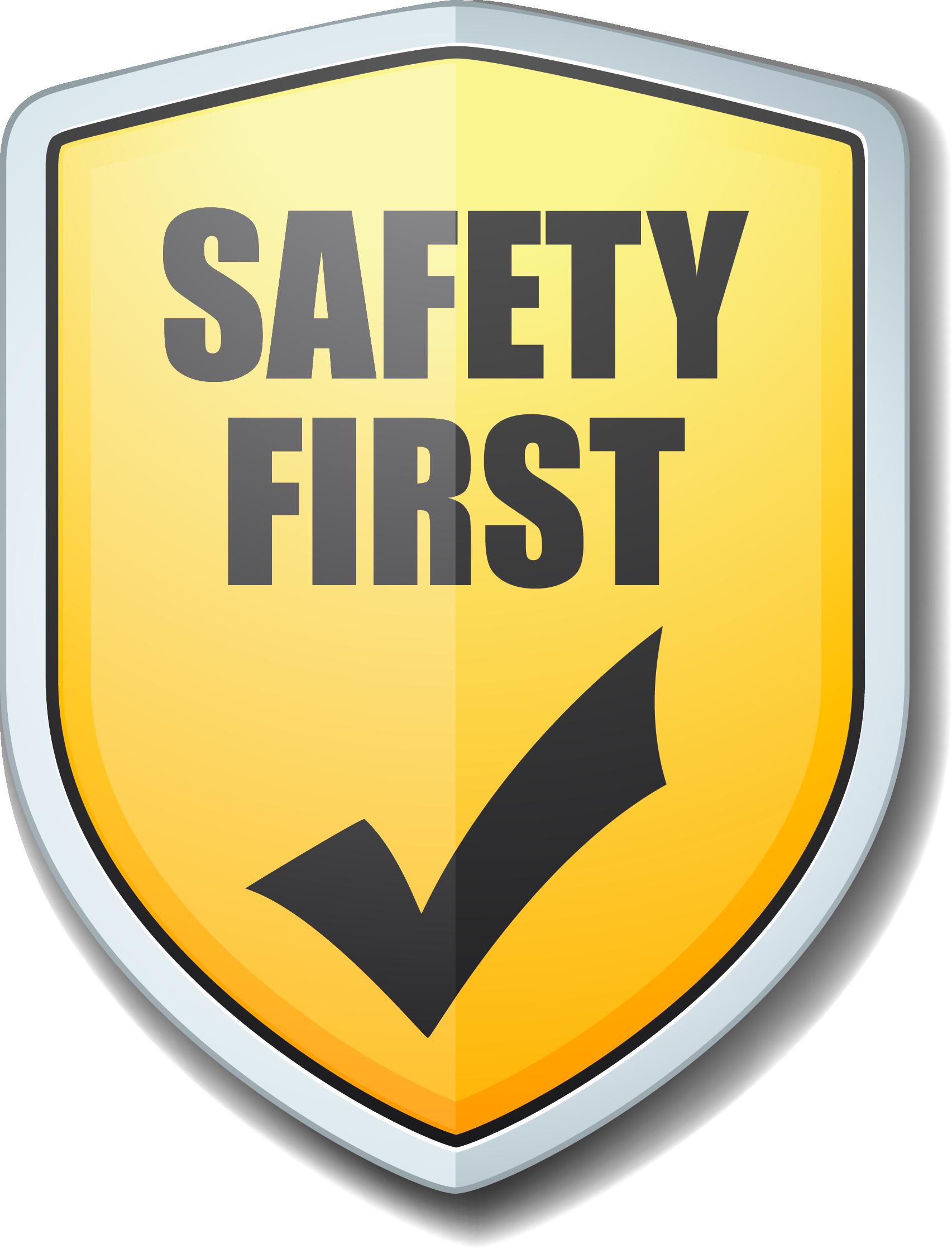 Safety first Logos