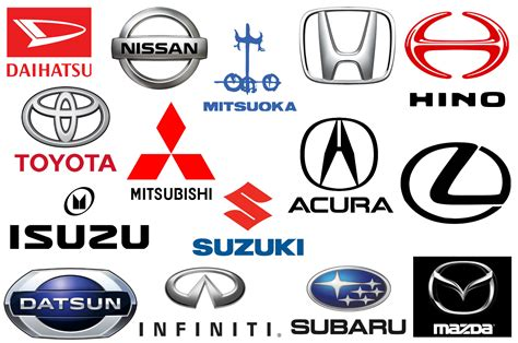 Car Brands That Start With D >> Car Brand Logos