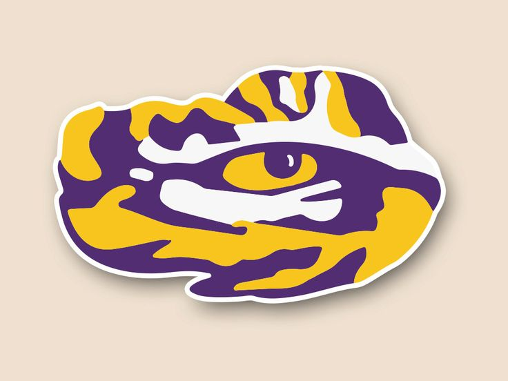 Lsu Tiger Eye Logos