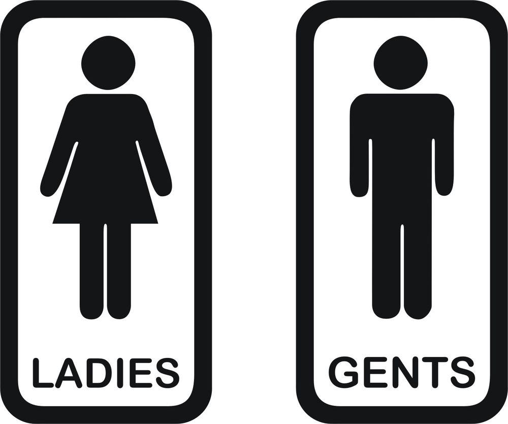 Gents washroom Logos