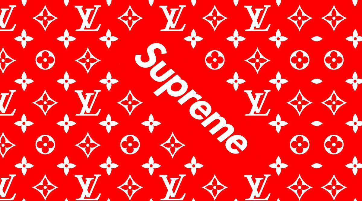 Supreme Louis Vuitton Stencil - Just Me And Supreme