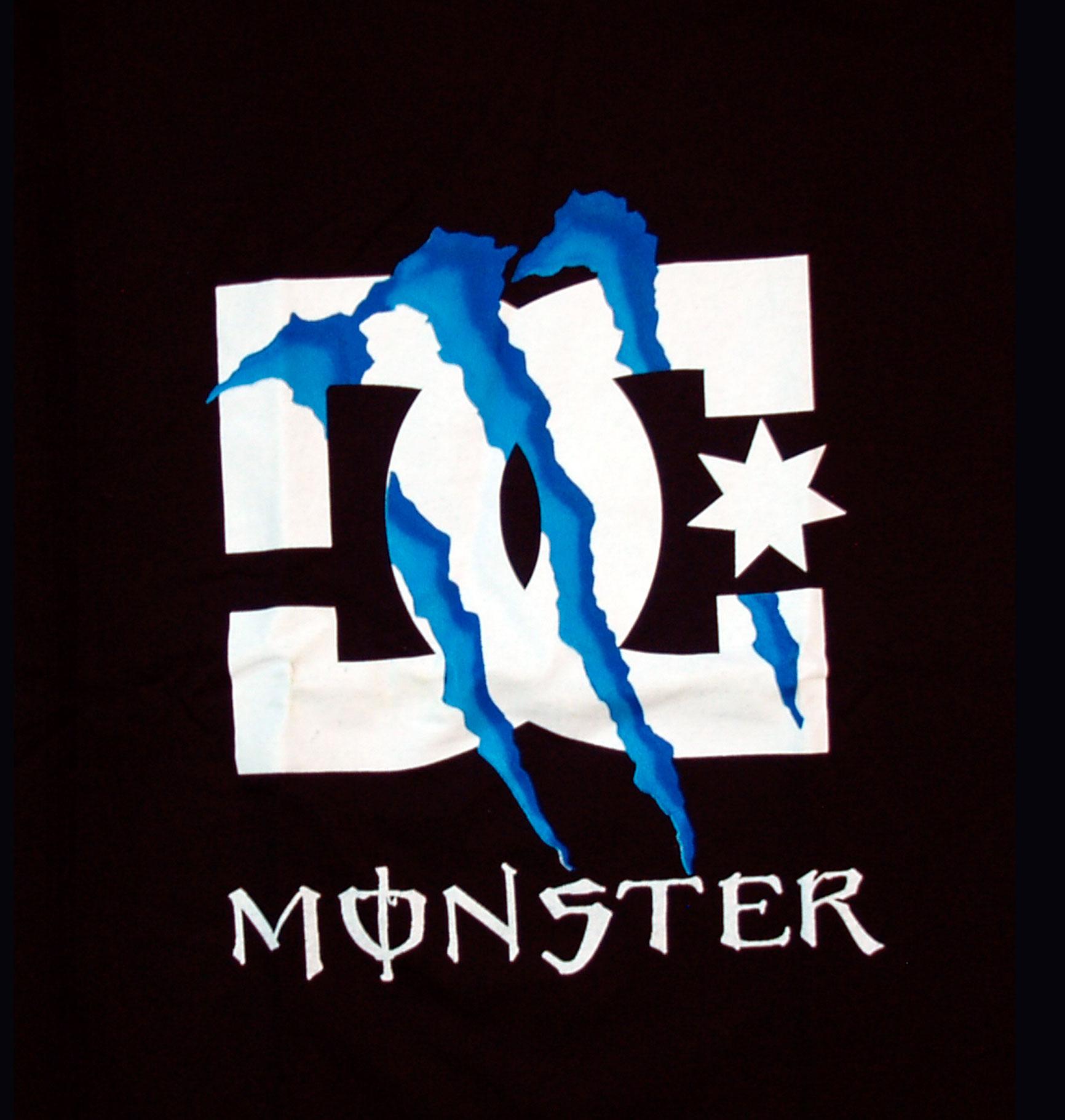 monster and dc logos rh logolynx com monster energy and fox racing logo Fox and Monster Logo Cake