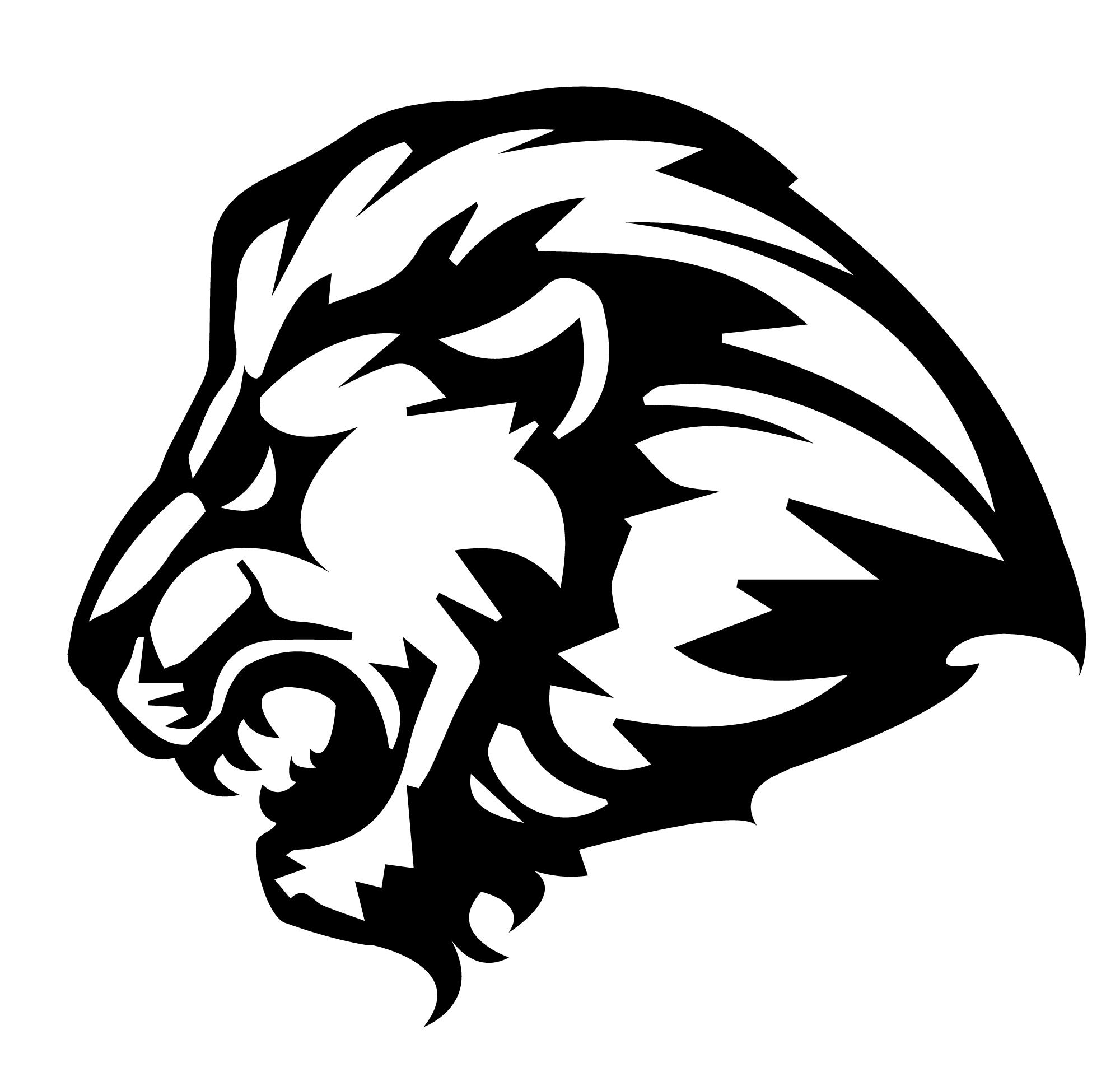 Black lion Logos