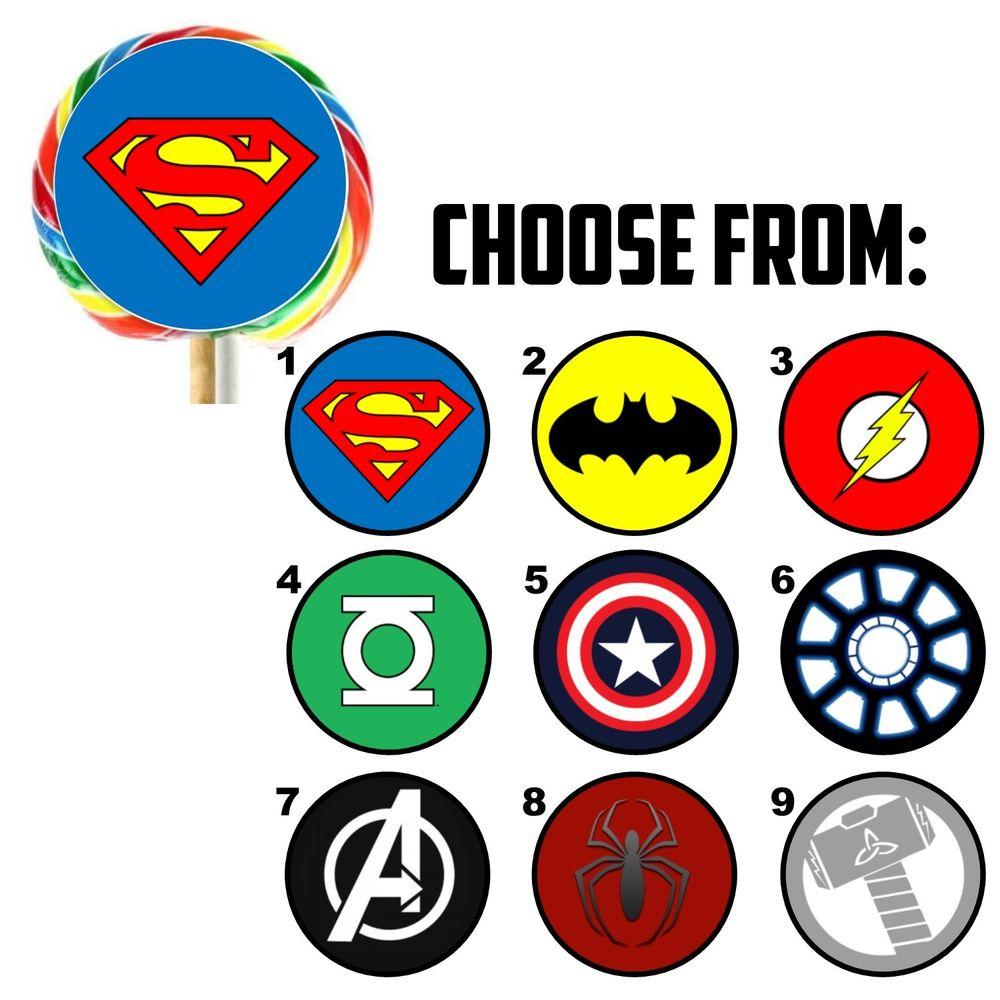 Diy Superhero Logos