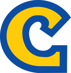 Blue and yellow c Logos