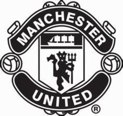 Manchester United White Logos