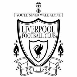 Liverpool Black Logos