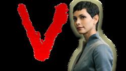 V tv show Logos