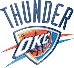 Oklahoma City Thunder 3D Logo By Rico560 On Deviant