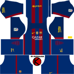 reputable site a51db c797b Dls Barcelona Kit 20