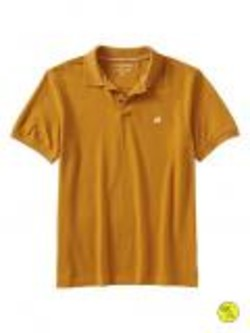 53f8ad224a9b15 Banana Republic Men s Factory Elephant Logo Polo Gold .