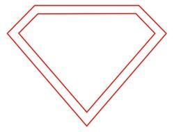 Blank Superman Logos